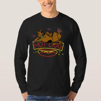 Señal de neón del perrito caliente de Scooby-Doo Playera