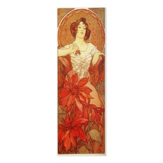 Señal de Nouveau del arte Plantillas De Tarjetas Personales