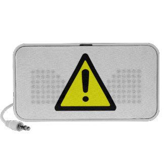 Señal de peligro iPhone altavoz