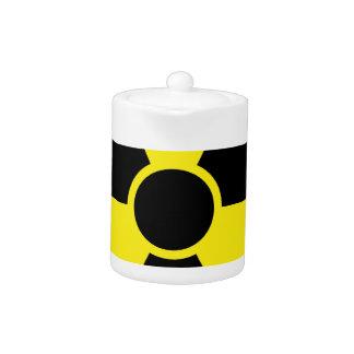Señal de peligro de la radiación