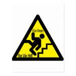 señal de peligro postal