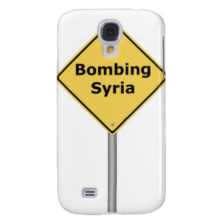 Señal de peligro que bombardea Siria Funda Para Galaxy S4