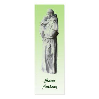 Señal de St Anthony Tarjeta De Visita