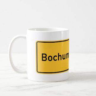 Señal de tráfico de Bochum, Alemania Taza De Café