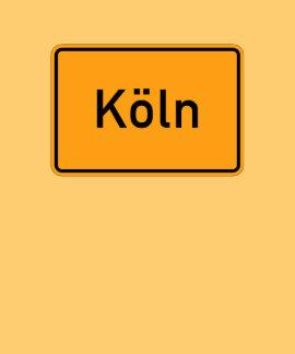 Señal de tráfico de Colonia, Alemania Camiseta