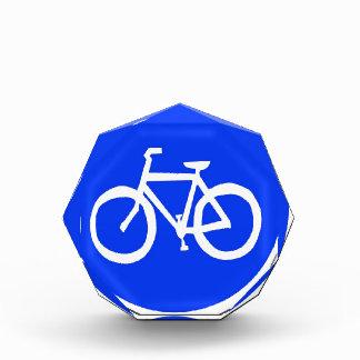 Señal de tráfico de la bici