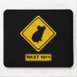 señal de tráfico de la koala tapete de ratones
