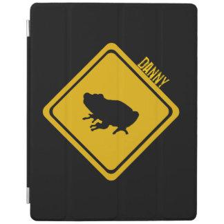 señal de tráfico de la rana cover de iPad