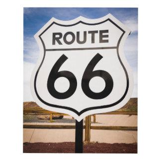 Señal de tráfico de la ruta 66, Arizona Cuadro