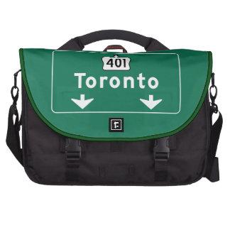 Señal de tráfico de Toronto Canadá