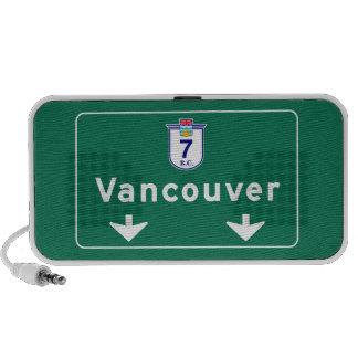 Señal de tráfico de Vancouver, Canadá Mp3 Altavoces