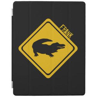 señal de tráfico del cocodrilo cover de iPad