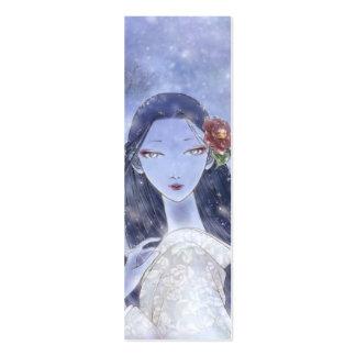 Señal de Yukionna Tarjetas De Visita Mini