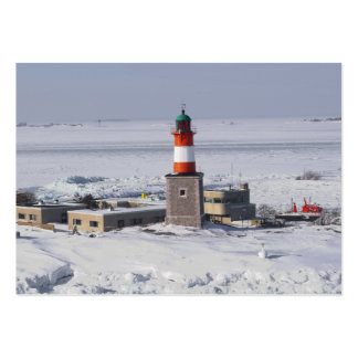 Señal del ATC de Helsinki Finlandia del faro de Ha Tarjeta Personal
