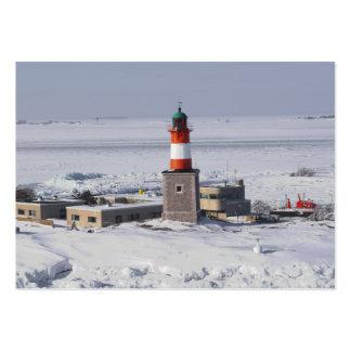 Señal del ATC de Helsinki Finlandia del faro de Ha Tarjetas De Visita Grandes