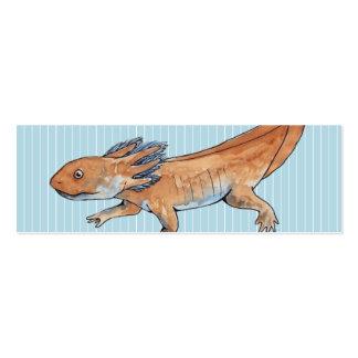 Señal del Axolotl Tarjetas De Visita Mini