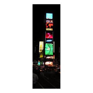 Señal del Cuadrado-NYC 2 de las épocas Plantilla De Tarjeta Personal