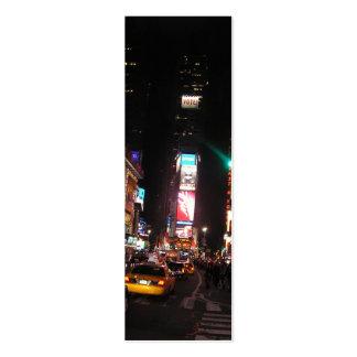 Señal del Cuadrado-NYC de las épocas Tarjetas De Visita Mini