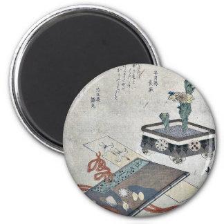 Señal del diario de Tosa por Totoya, Hokkei Imán Para Frigorífico