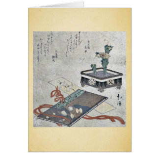 Señal del diario de Tosa por Totoya, Hokkei Tarjetas