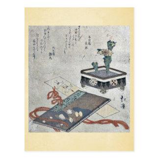 Señal del diario de Tosa por Totoya, Hokkei Tarjeta Postal
