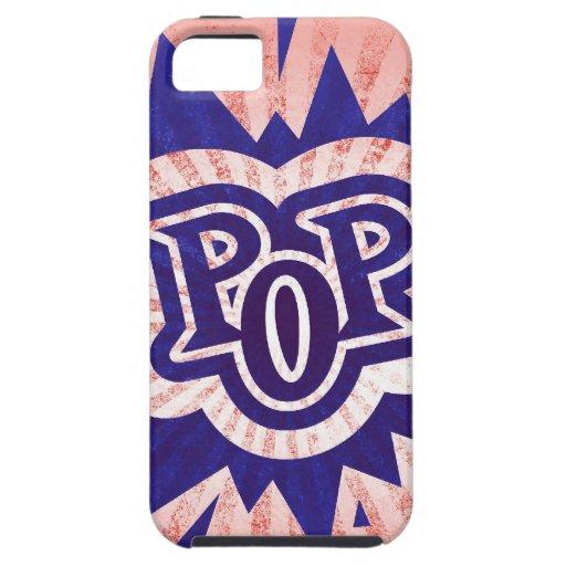 Señal del diseño de la muestra del música pop de iPhone 5 fundas