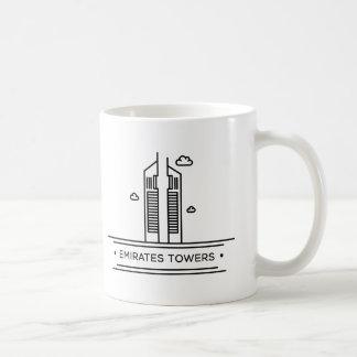 Señal del mundo: Torres de los emiratos Taza Clásica