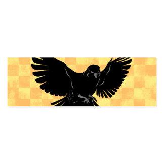 Señal del pájaro de vuelo tarjetas de negocios