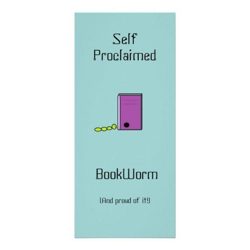 Señal del ratón de biblioteca tarjeta publicitaria personalizada