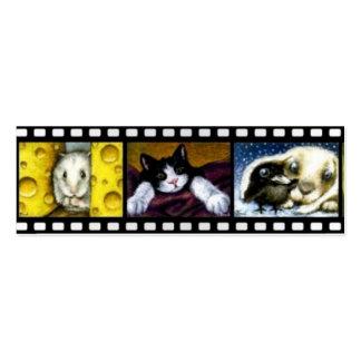 Señal encantadora de los critters (paquete de 20) tarjetas personales