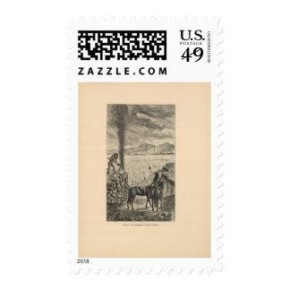 Señal, fiesta de la guerra timbre postal