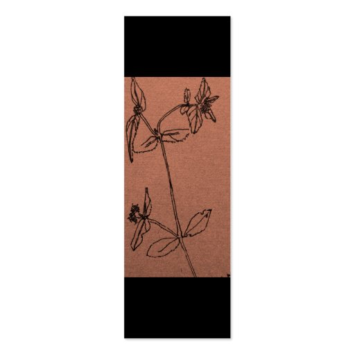 Señal floral plantillas de tarjeta de negocio