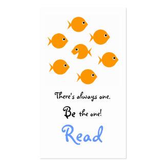 Señal inspirada linda de la escuela primaria tarjetas de visita