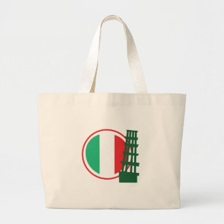 Señal italiana bolsa tela grande