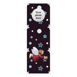 Señal mágica del personalizado del navidad tarjeta de visita