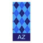 Señal personalizada azul de la letra A del modelo  Diseños De Tarjetas Publicitarias