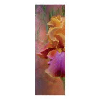 Señal pintada del arte del iris tarjeta de visita