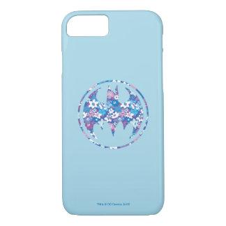 Señal púrpura del palo de la margarita funda iPhone 7