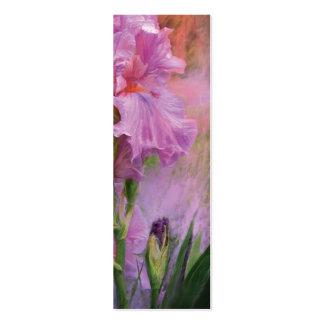 Señal rosada del arte de la diosa plantillas de tarjeta de negocio