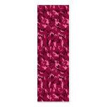 Señal rosada del camuflaje plantilla de tarjeta de visita