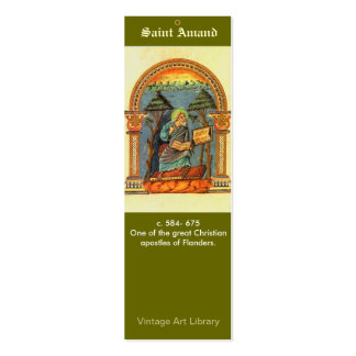 Señal - santo Amand Plantillas De Tarjetas Personales