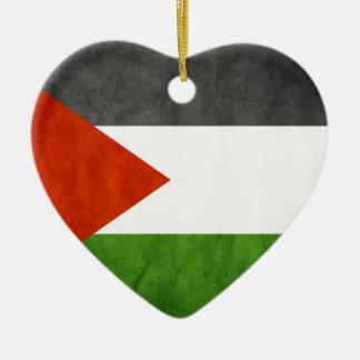 señala Palestina por medio de una bandera Ornamentos De Reyes