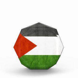 señala Palestina por medio de una bandera