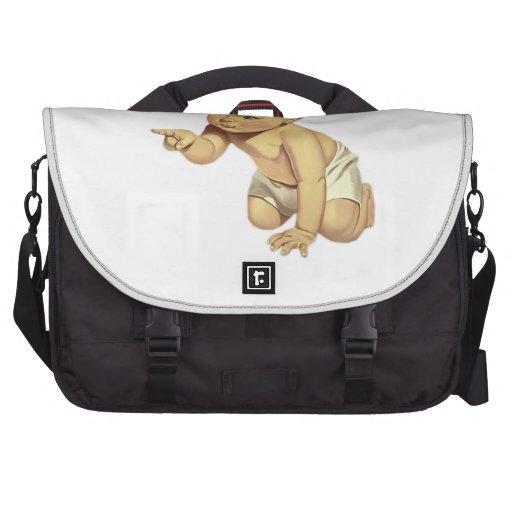 Señalar al bebé bolsas de portatil