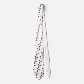 Señalar al camarero del Cloche Corbatas Personalizadas