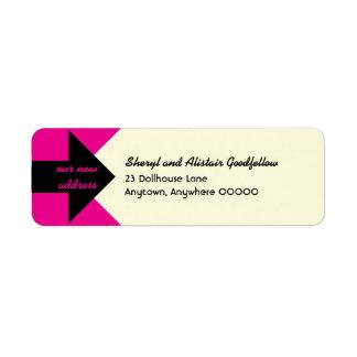 Señalar el remite de la invitación móvil de la etiqueta de remitente