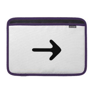Señalar la flecha funda macbook air