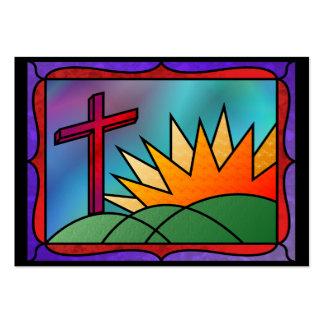 Señales de la mañana de Pascua Tarjetas De Visita