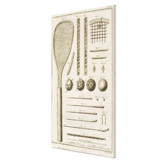 Señales de las estafas y del billar de tenis, del  impresión en lona estirada