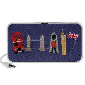 Señales de Londres iPhone Altavoz